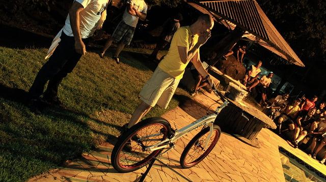 Edu Capivara e sua nova biketrial