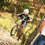 Campeonato Brasileiro de Biketrial - Piloto em ação