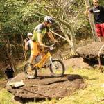 Campeonato Brasileiro de Biketrial - Piloto se preparando na seção