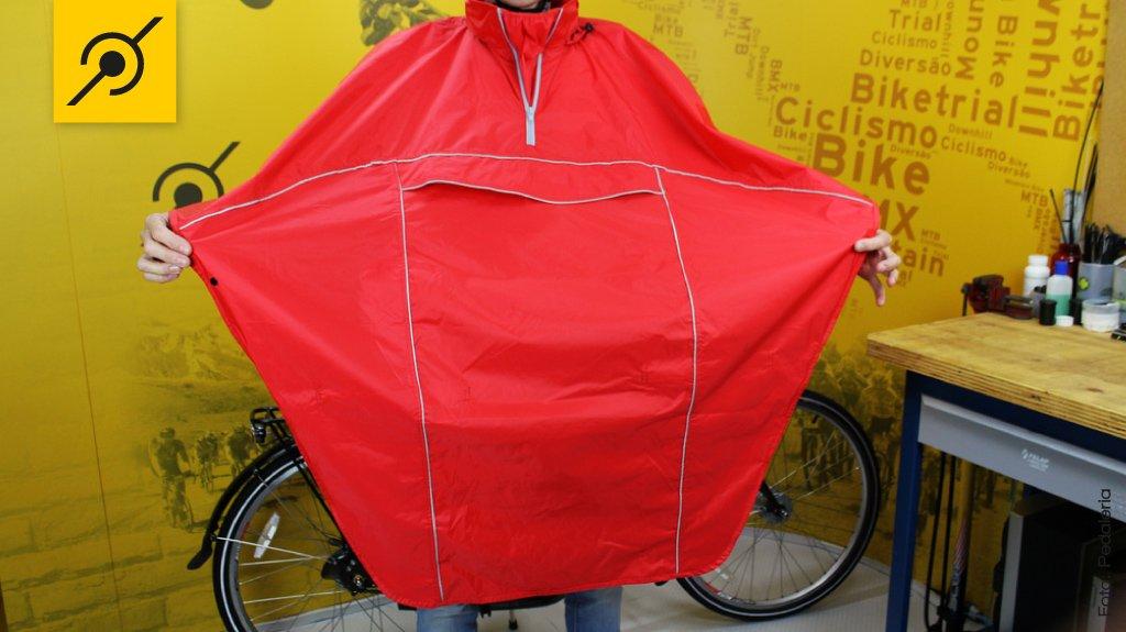 Capa de chuva para ciclistas Capa de chuva para ciclistas 425553fab2