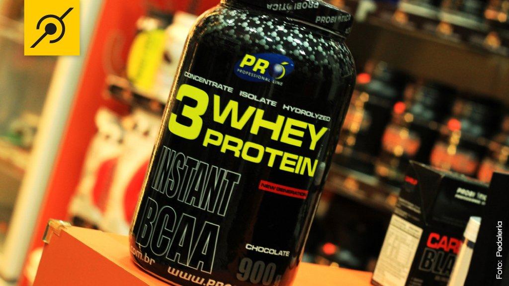 Suplementação nutricional para ciclistas - Whey Protein