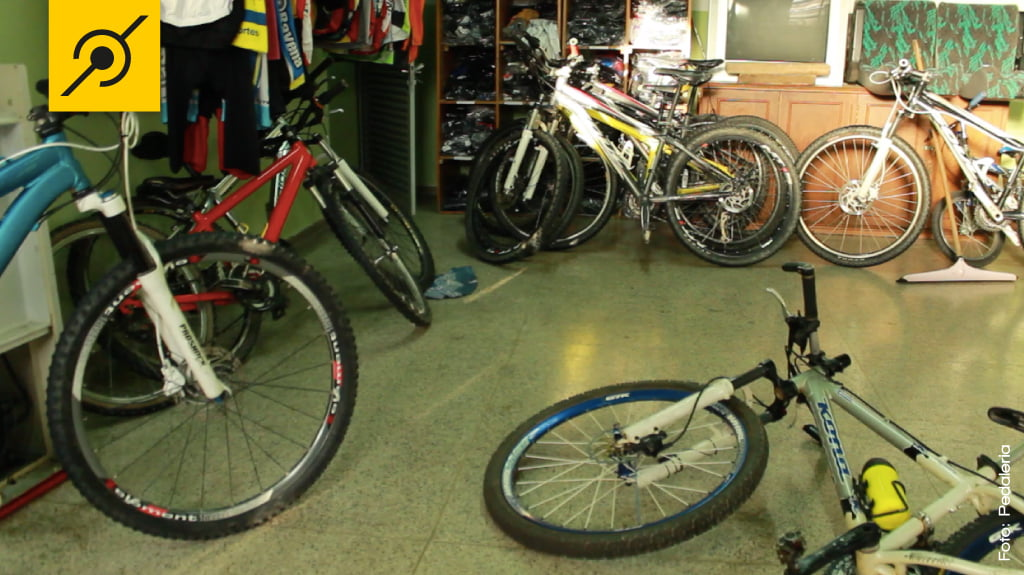 Bikes dos atletas