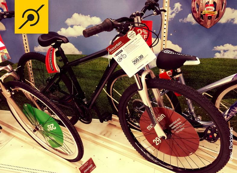 Vamos lutar para ter preços como o desta bike aqui no Brasil.