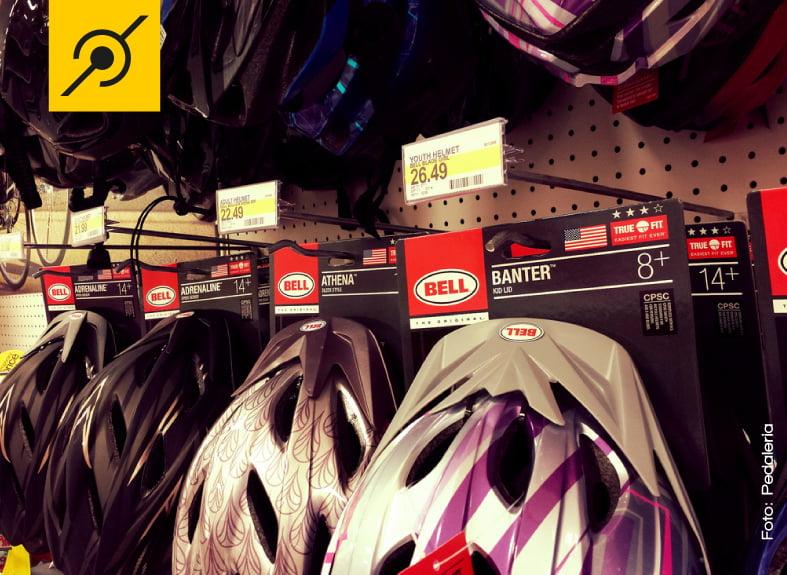 Preços realmente bons e que incentivam por exemplo, os pais a comprarem capacetes para seus filhos.