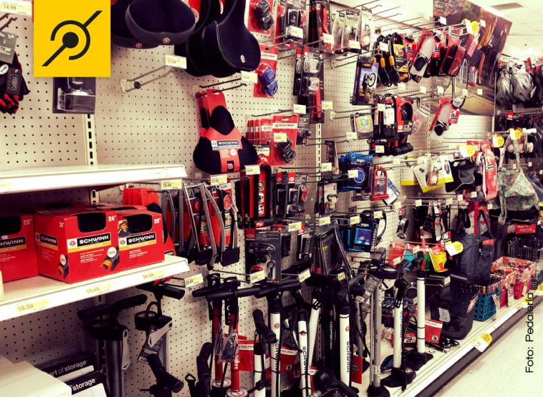 Variedade de excelentes produtos ao alcance de qualquer ciclista.