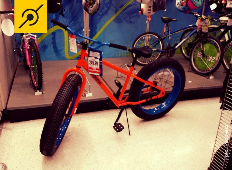 Bicicletas como esta são encontradas em lojas de brinquedos.