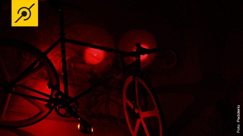 Luz de led no guidão road