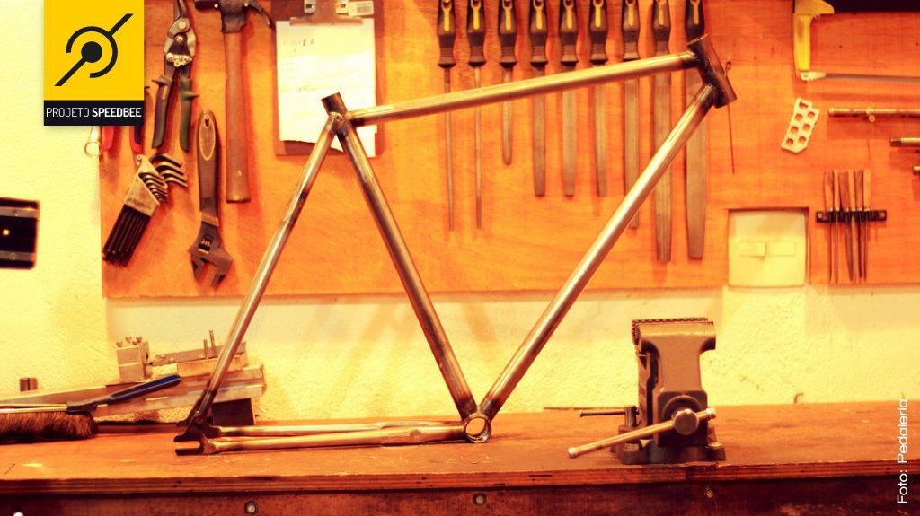 Quadro bike fixa Speedbee