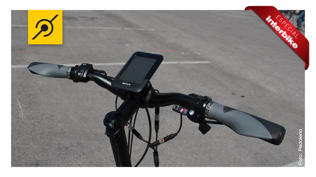 Interbike 2014 - Guidão da bike elétrica
