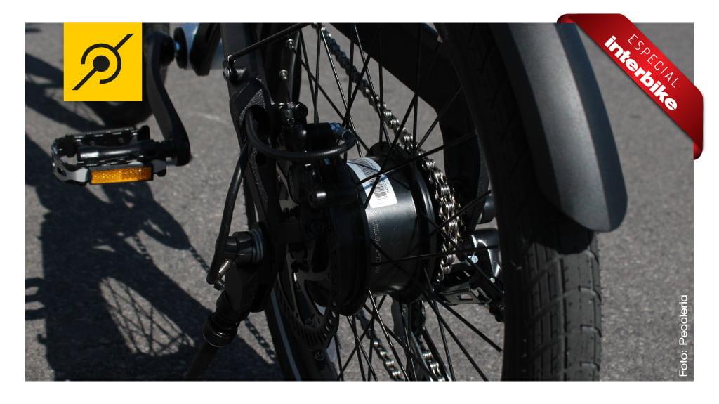 Interbike 2014 - Cubo traseiro com motor de 250W