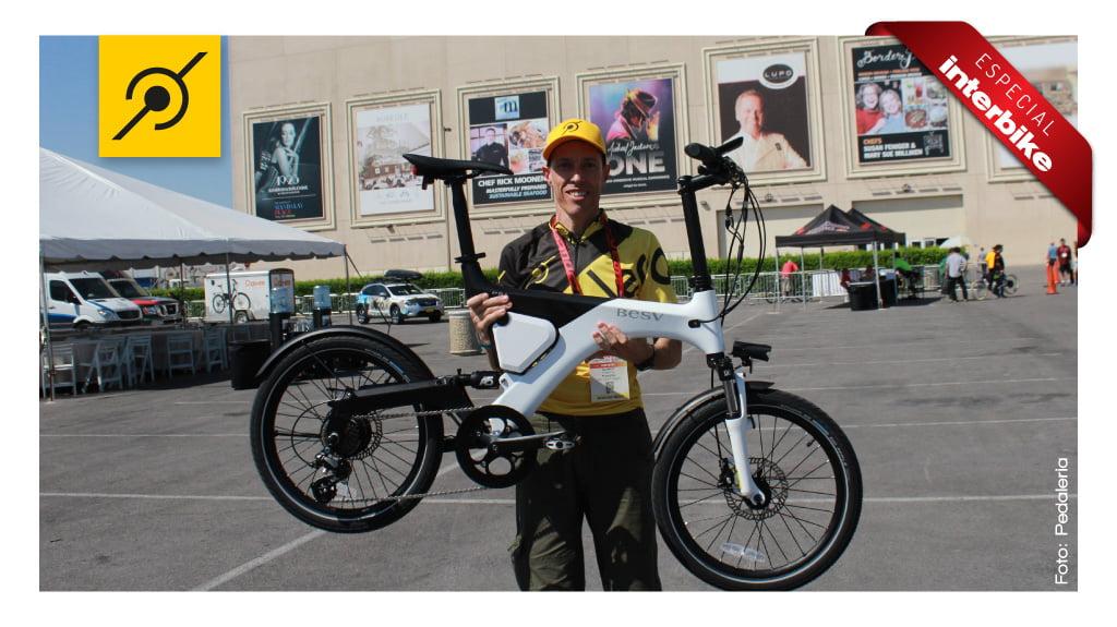 Interbike 2014 - Bike elétrica BESV