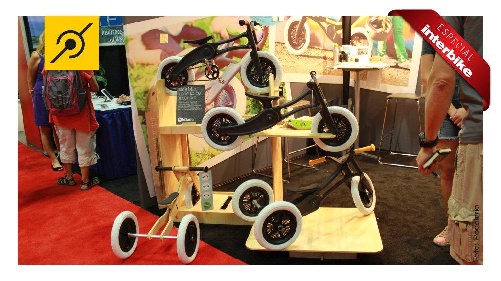 bike infantil feita de carpete usado