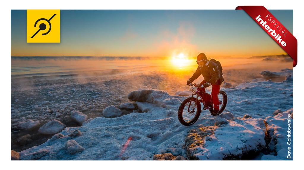 Biker a 10 graus negativos nos EUA