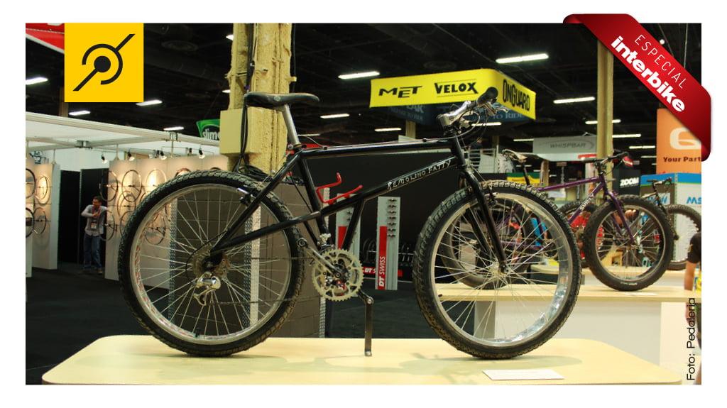 Quase lá. Remolino, uma das primeiras fat bikes da história