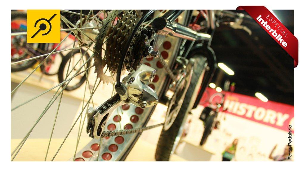 Peças customizadas na primeira Fat Bike