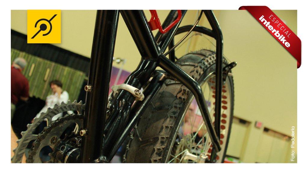 Detalhe da Bike Remolino Fatty