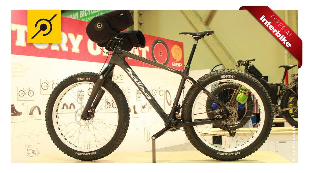 Solução da fat bike da Salsa para pedalar no frio intenso
