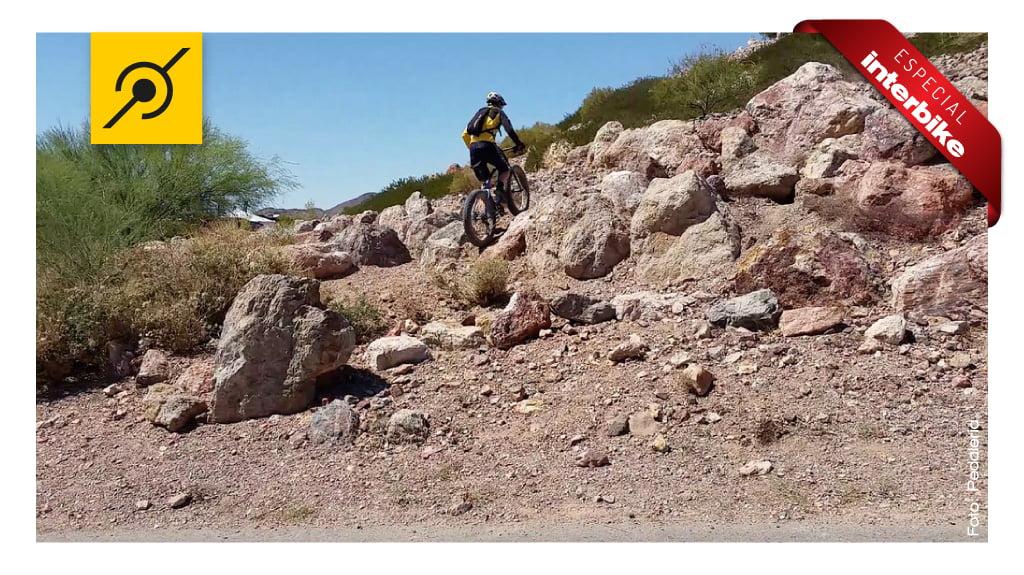 Subindo com a fat bike