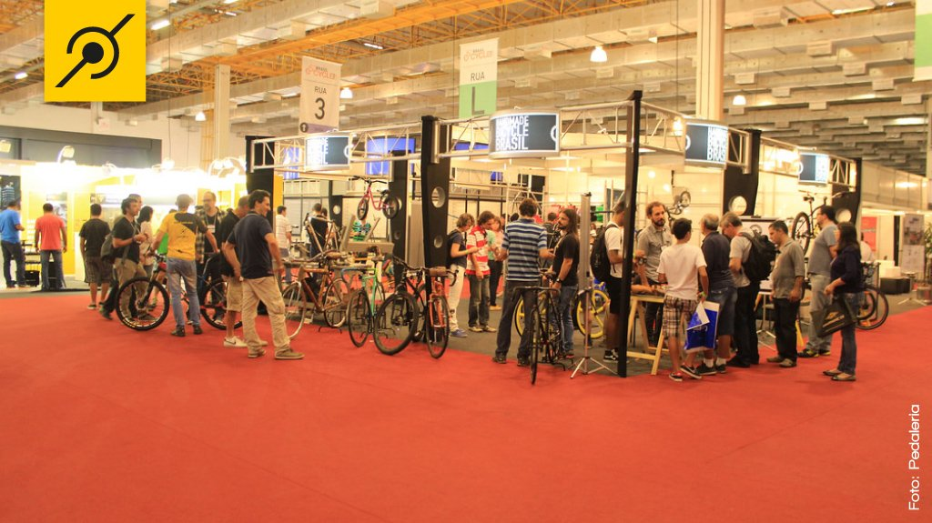 Estande da Handmade Bicycle Brasil