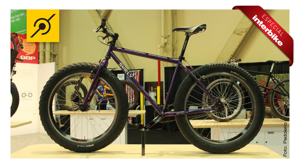 A primeira fat bike oficial. Surly Pugsley