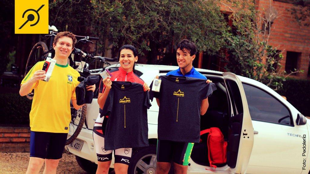 Escola de mountain bike - Participantes