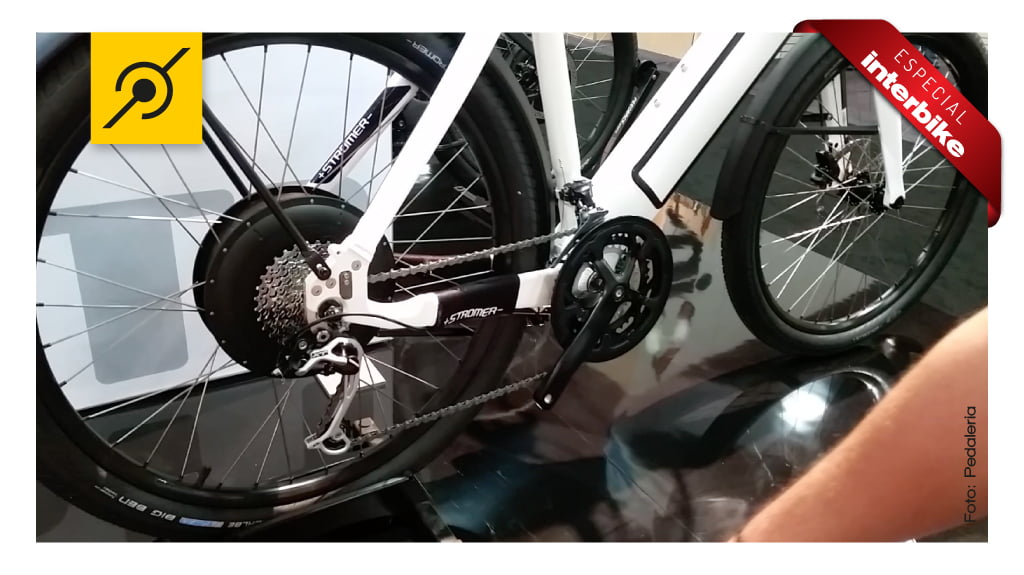 Gancheira reforçada da bike eletrica