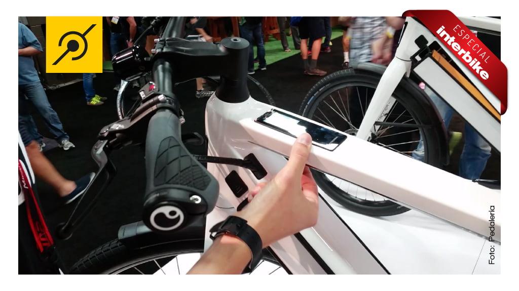 Computador de bordo da bicicleta eletrica Stromer ST2